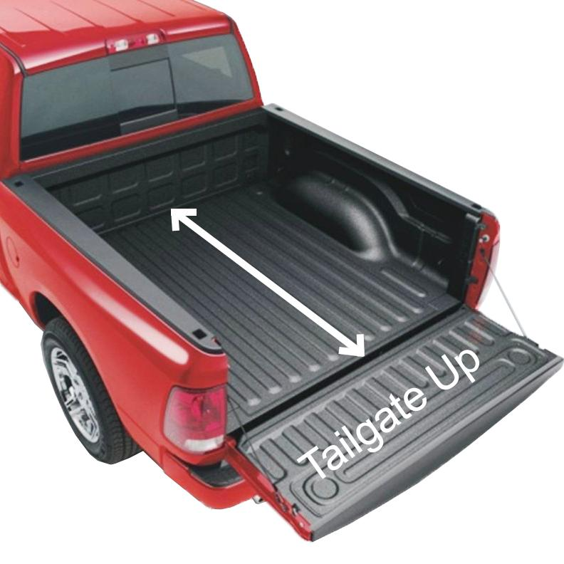 Measure Truck Bed  sc 1 st  Amazon.com & Amazon.com: Rightline Gear 110730 Full-Size Standard Truck Bed ...