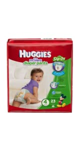 Looking for best diaper for standing babies? Huggies Little Movers Diaper Pants can help