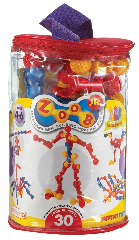 Amazon.com: ZOOB Jr. 30 Piece Building Set: Toys & Games