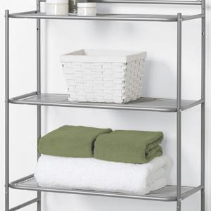3 Sturdy Metal Wire Shelves