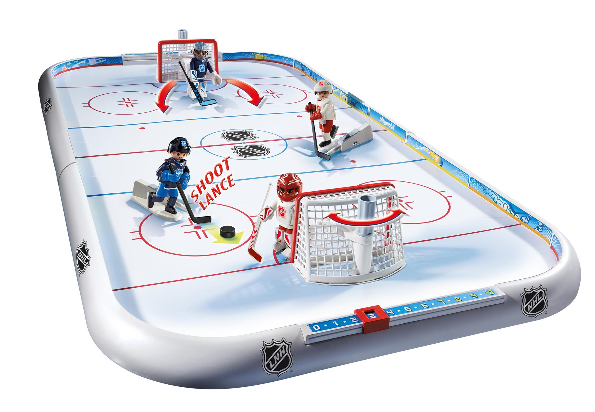 Toys And Games For Boys : Amazon playmobil nhl hockey arena toys games