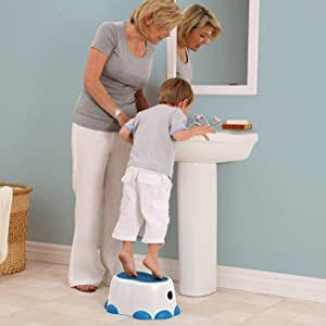 Amazon Com Bumbo Step Stool Blue Toilet Training Step