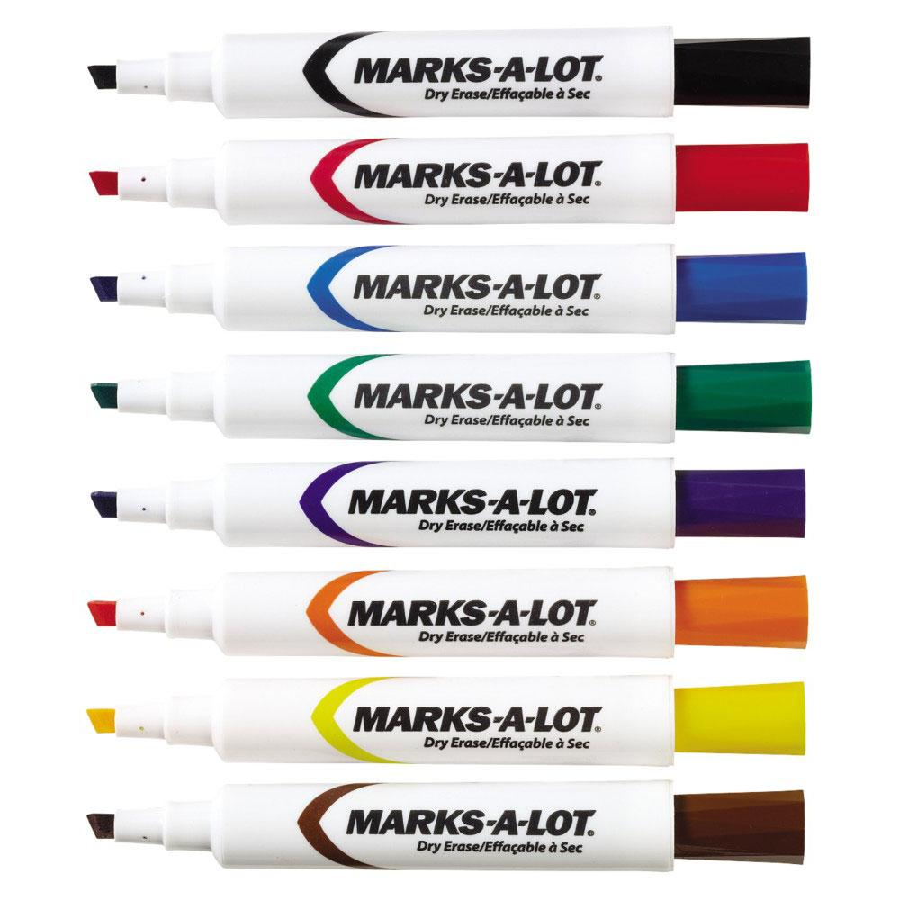 Amazon.com : Marks-A-Lot Jumbo Chisel Tip Washable Marker