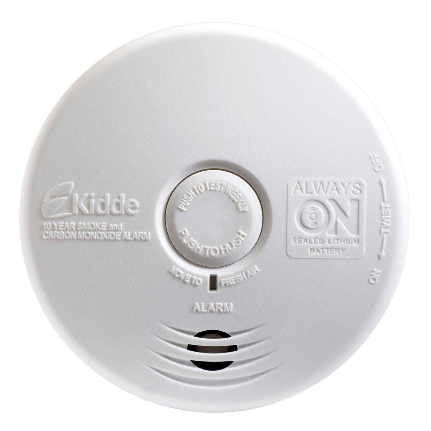 Kidde P3010h Worry Free Hallway Photoelectric Smoke Alarm