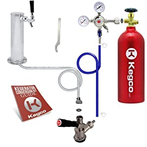 Kegco Kegerator Digital Beer Keg Cooler Premium Keg Tapping Kit