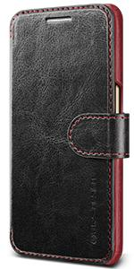 Galaxy S7 Case Wallet, VRS Design Layered Dandy Diary Series