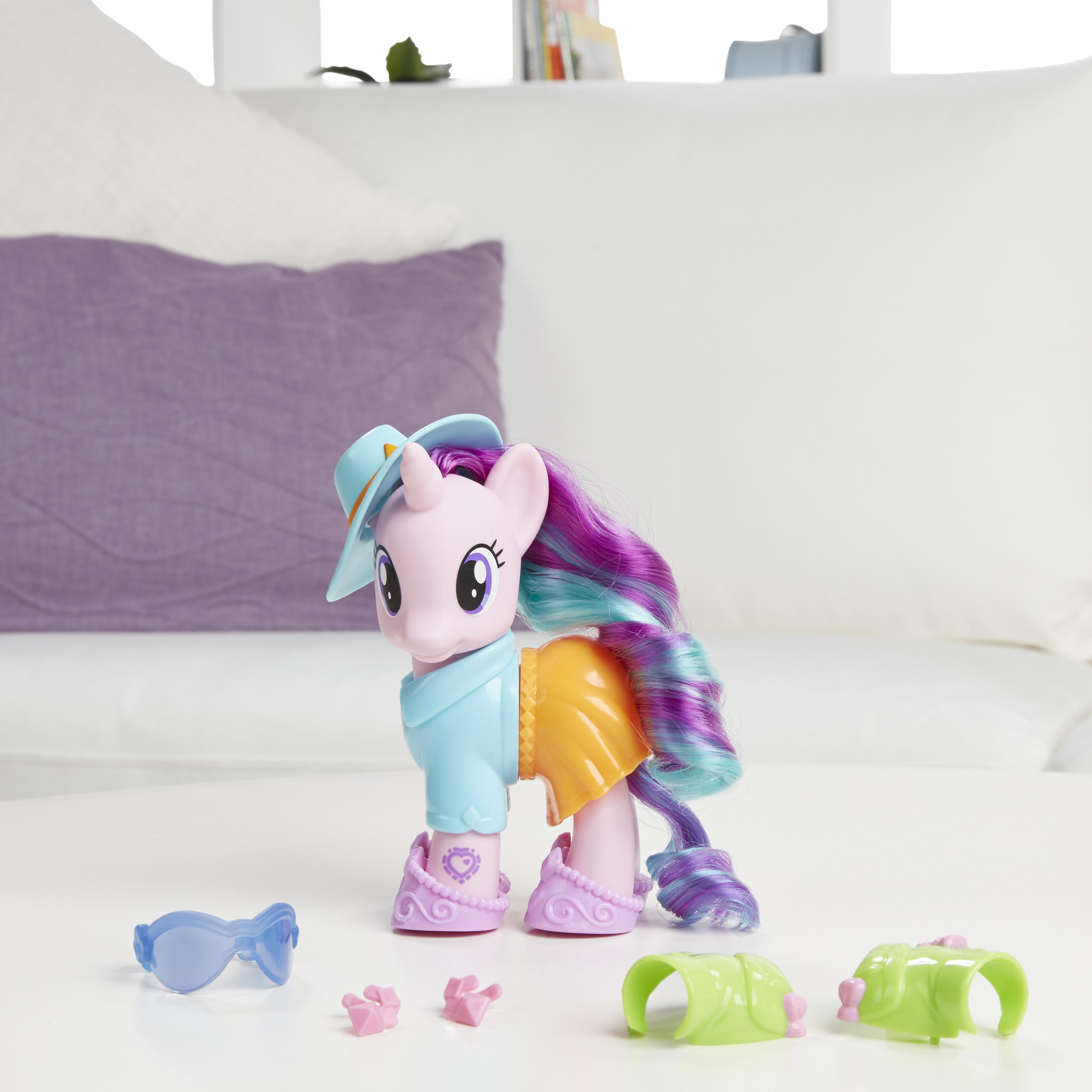 My Little Pony Explore Equestria 6 Inch Fashion Style Set Starlight Glimmer Toys