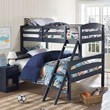 Amazoncom Dorel Living Brady Twin over Full Solid Wood Kids Bunk