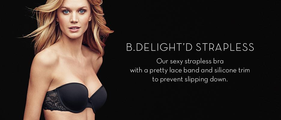 bc6bdccc0d B.tempt d by Wacoal Women s B.delighted Strapless Bra at Amazon ...