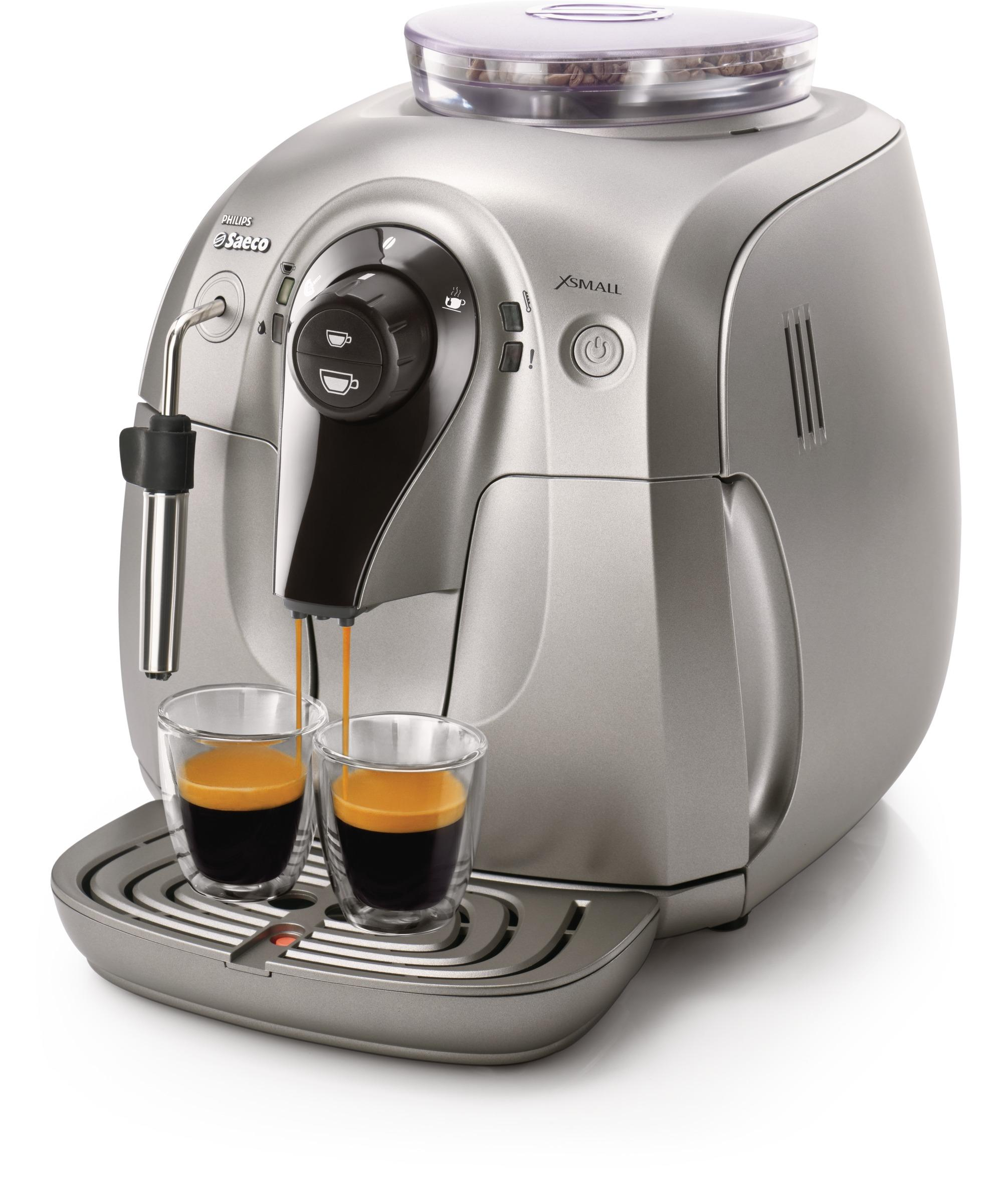 Amazon Com Saeco Hd8745 57 Chrome Expresso Machine X
