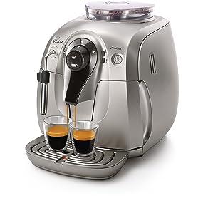 Philips Saeco, Espresso Machine, X-Small, Silver