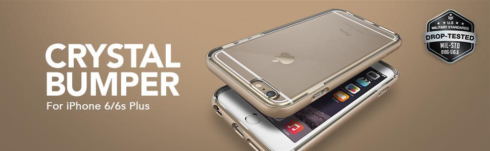 iPhone 6 Plus Case, VRS Design Crystal Bumper Series