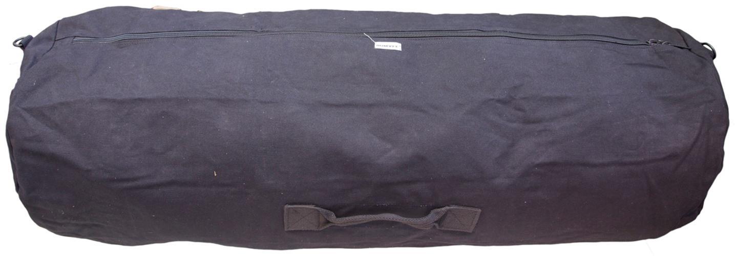1c0515ded6 Amazon.com  HUMVEE HMV-GB-05BLK Large Cotton Canvas Duffle Bag with ...