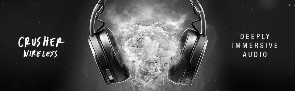 Znalezione obrazy dla zapytania Skullcandy CRUSHER Wireless