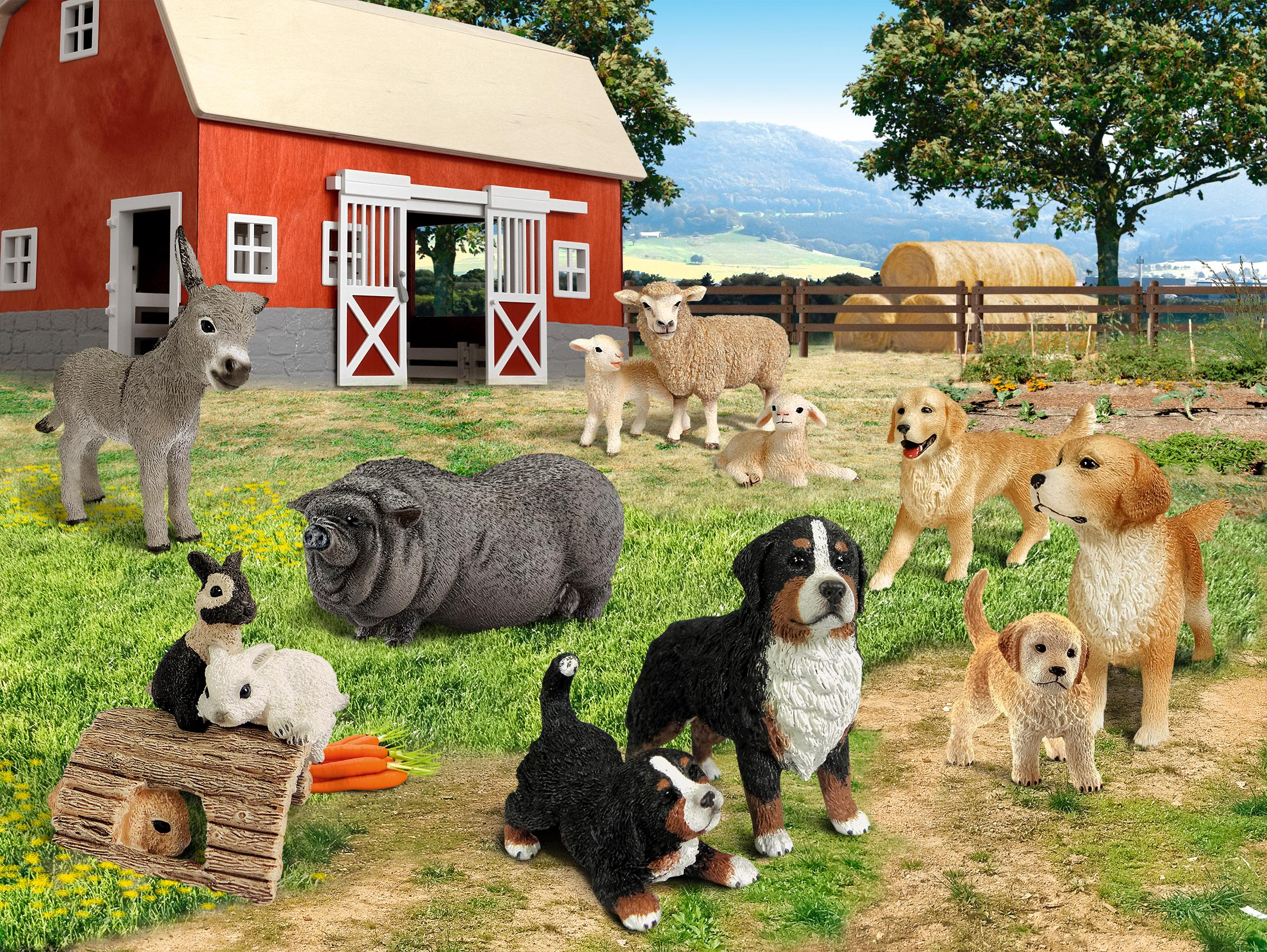Schleich Dog House