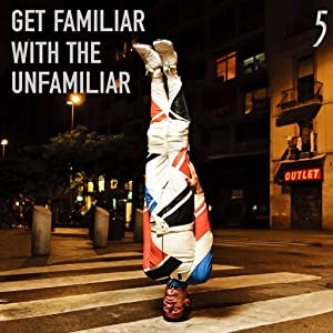 5 Gum lifestyle. Getting familiar with the unfamiliar. Man stands on head.