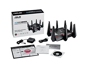 ASUS AC5300 WiFi Tri-band Gigabit Wireless Router