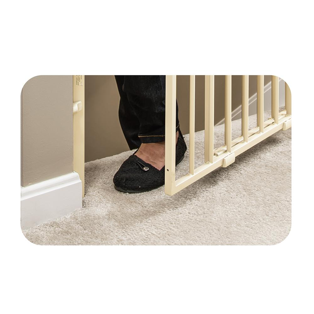 Amazon Com Evenflo Easy Walk Thru Top Of Stairs Gate