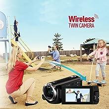 HC-WX970 Wireless Twin Camera