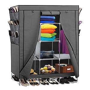 Amazon Com Portable Storage Organizer Wardrobe Closet