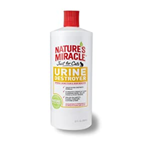 Amazon Com Nature S Miracle Just For Cats Urine