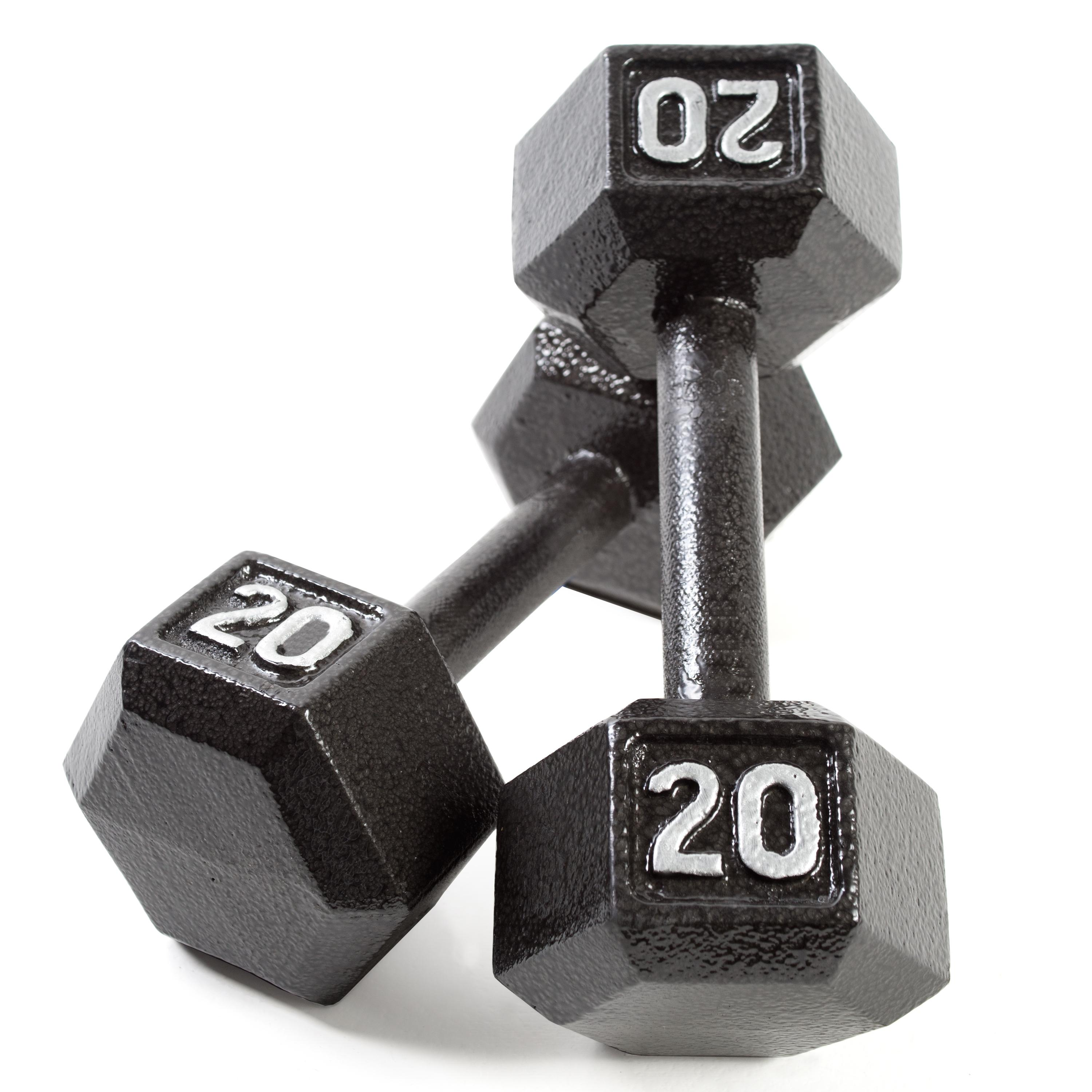 Cap barbell cast iron hex dumbbell pair for 20 images