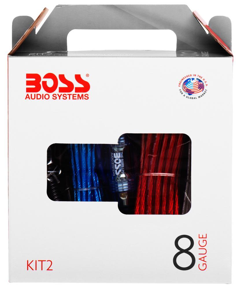 Amazon Com  Boss Audio Kit2 8 Gauge Amplifier Installation