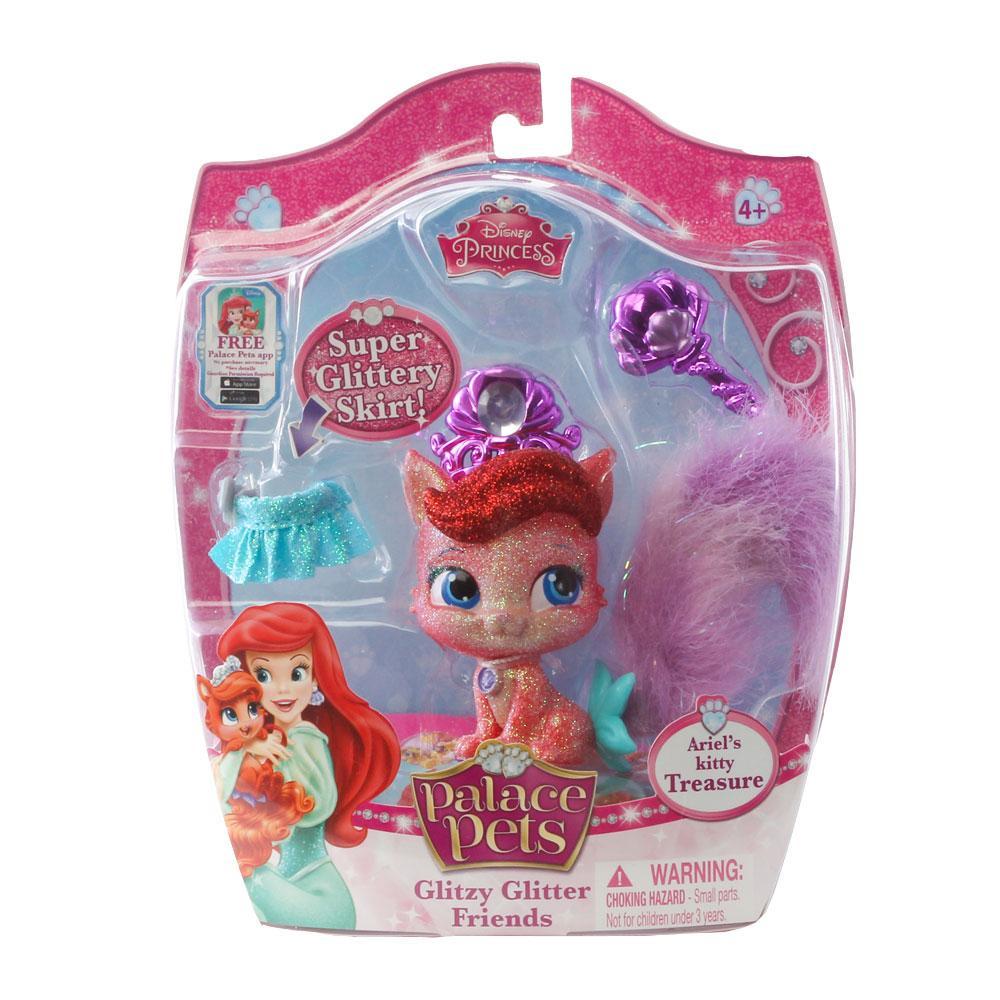 Palace Pets Glitzy Glitter, Ariel's Kitty Treasure: Toys & Games