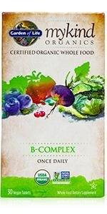 mykind organics b-complex