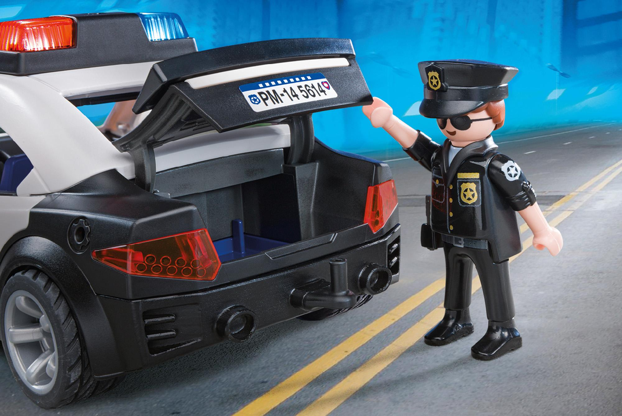 Amazon.com: PLAYMOBIL Police Cruiser Playset: Toys & Games