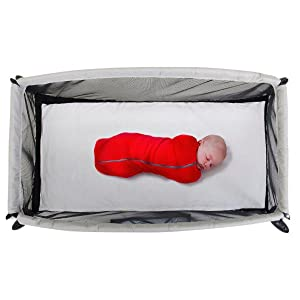 Amazon Com Phil Amp Teds Portable Traveller Crib Silver Baby
