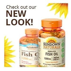 Sundown naturals fish oil 1000 mg 72 softgels for Quality fish oil