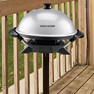 Amazon.com: George Foreman GFO200S Indoor/Outdoor Electric Grill ...