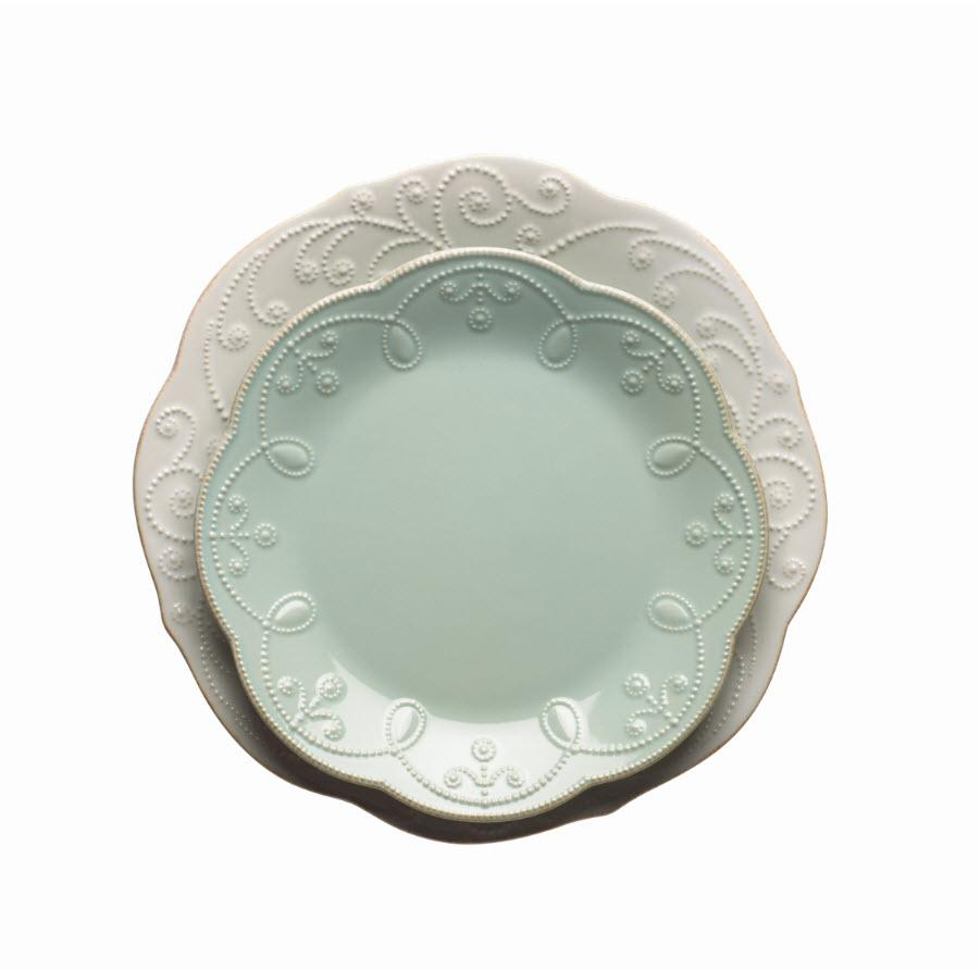 The Lenox French Perle Collection  sc 1 st  Amazon.com & Amazon.com: Lenox French Perle 4-Piece Place Setting White: Dinner ...