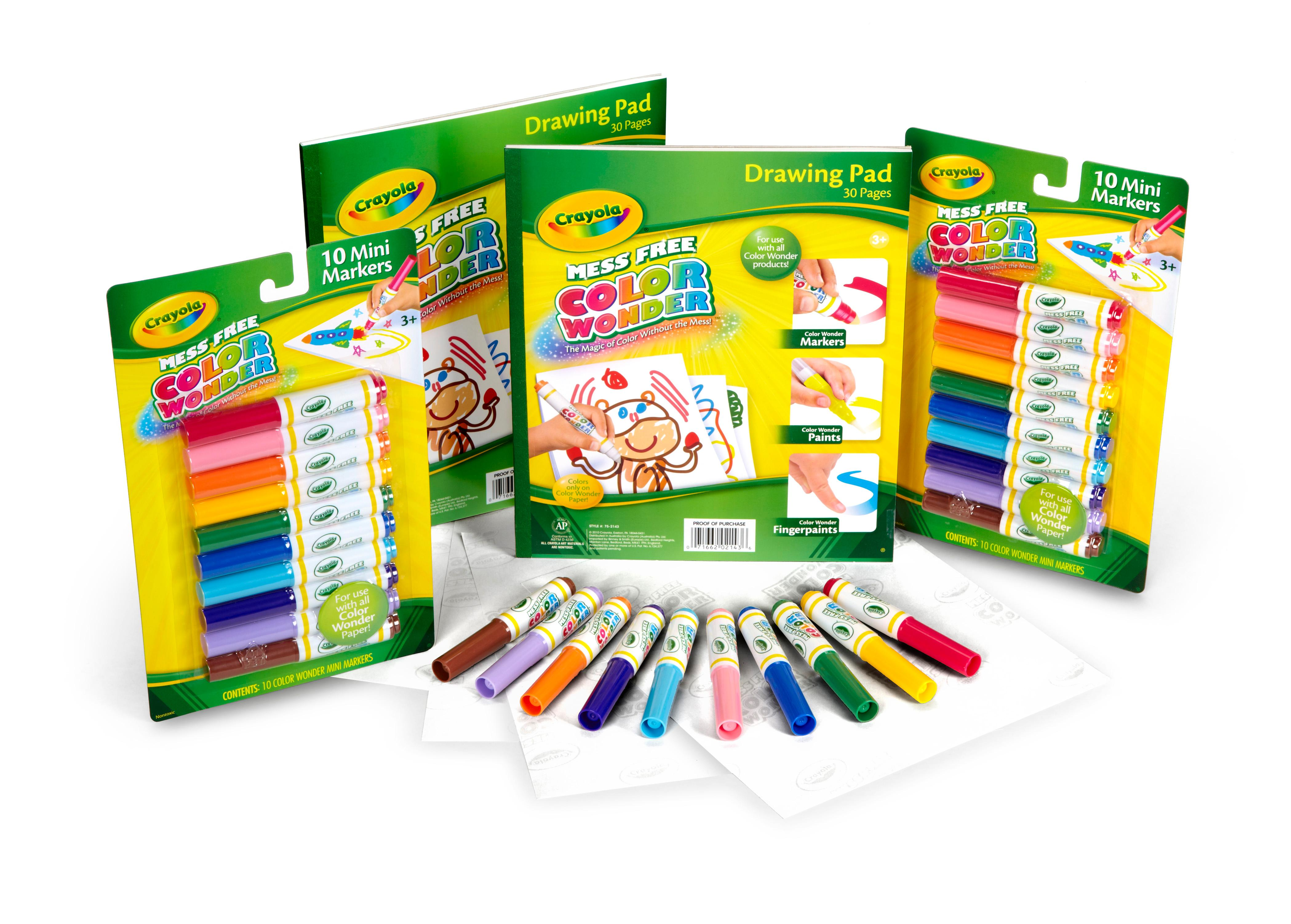 Amazon.com: Crayola Color Wonder Refill Set: Toys & Games