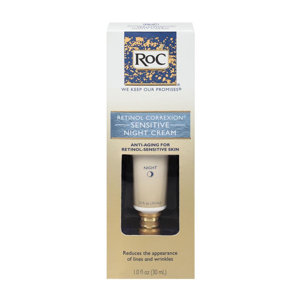 Amazon Com Roc Retinol Correxion Sensitive Night Cream 1