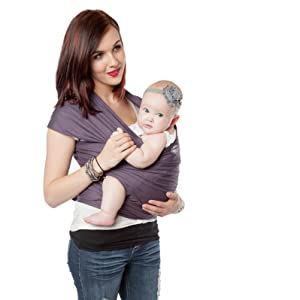 Amazon Com Moby Wrap Baby Carrier Organic Snowpea Child Carrier