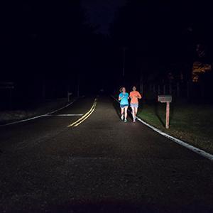 runners; night driving; sylvania; headlights
