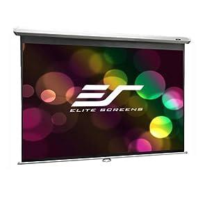 Projection screen, 16:9, elite screens, manual series, projection screens, best projection screen