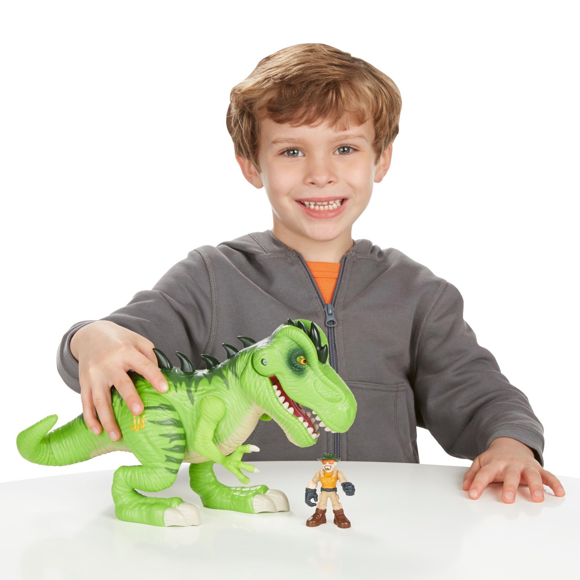 Unboxing 10 Juric World Dinosaurs Playskool Heroes Park