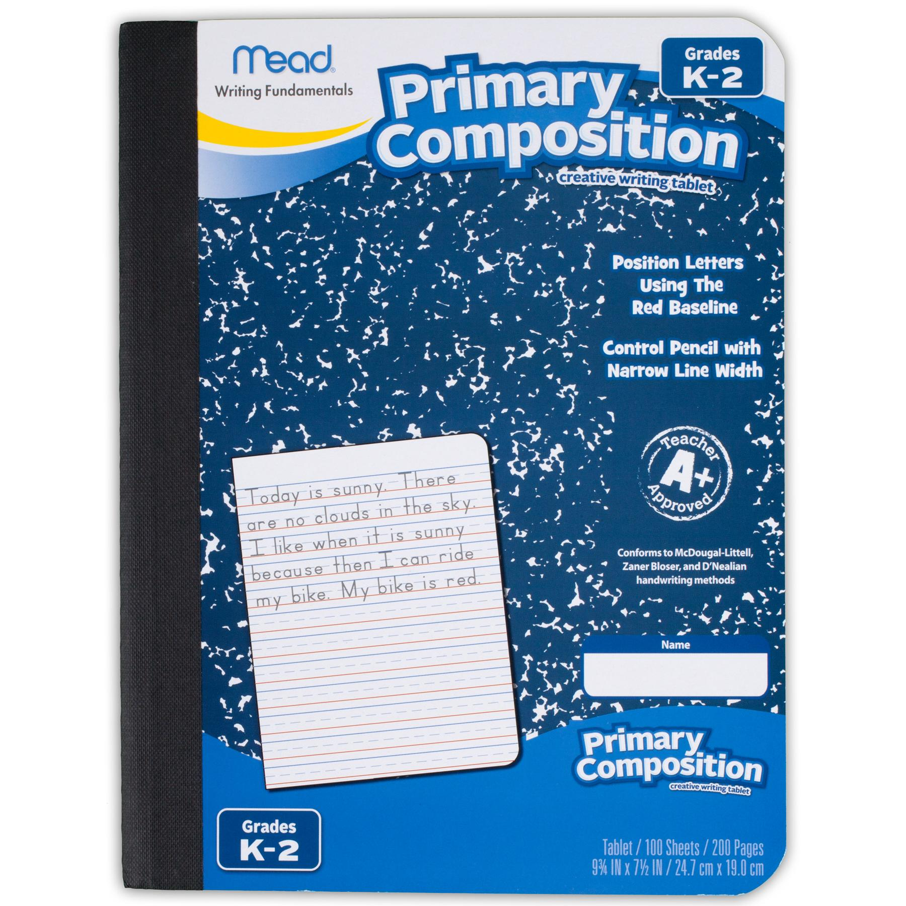 Mead primary composition early creative writing stage 3