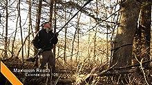 tree stand preperation, hunting, deer hunting saw, black and decker, ryobi saw, oregon cordless saw,
