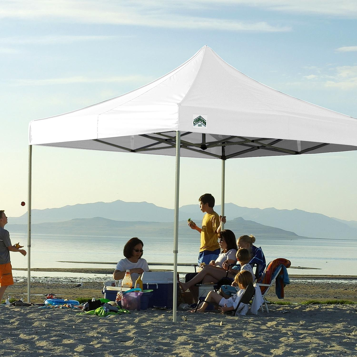 Amazon Com Caravan Canopy 10 X 10 Foot Straight Leg