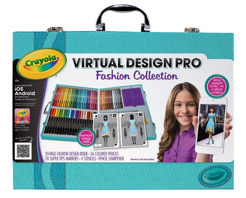 Crayola virtual design pro fashion set toys for Virtual blueprint maker
