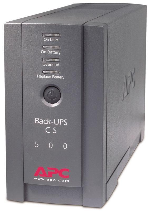 Amazon Com Apc Back Ups Cs Bk500blk 500va 300w Ups System