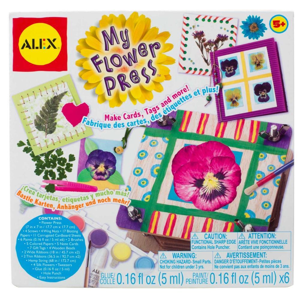 Amazon Alex Toys Craft My Flower Press Toys Games