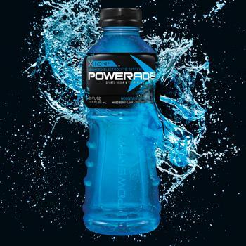 Amazon Com Powerade Mountain Berry Blast Sports Drink