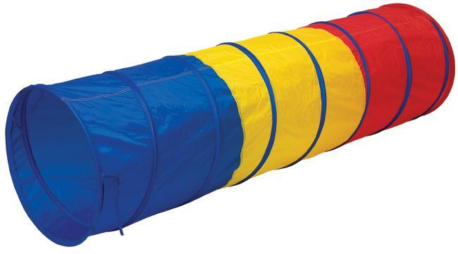 Children can crawl, hide, and play in Pacific Play Tents colorful