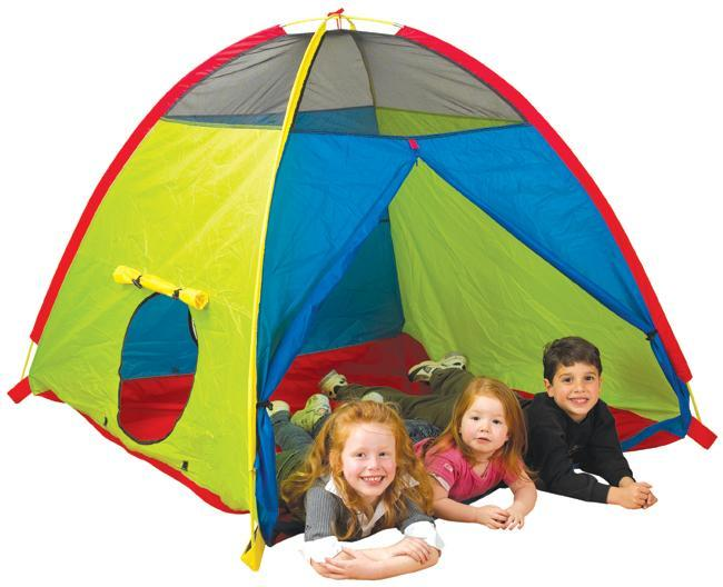 Super Duper 4-Kid play tent