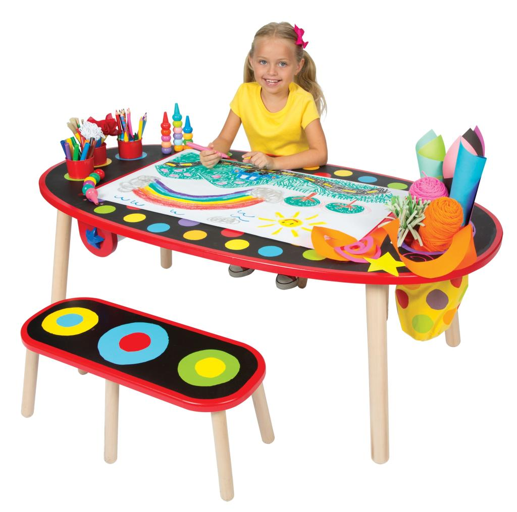 Amazoncom ALEX Toys Artist Studio Super Art Table With